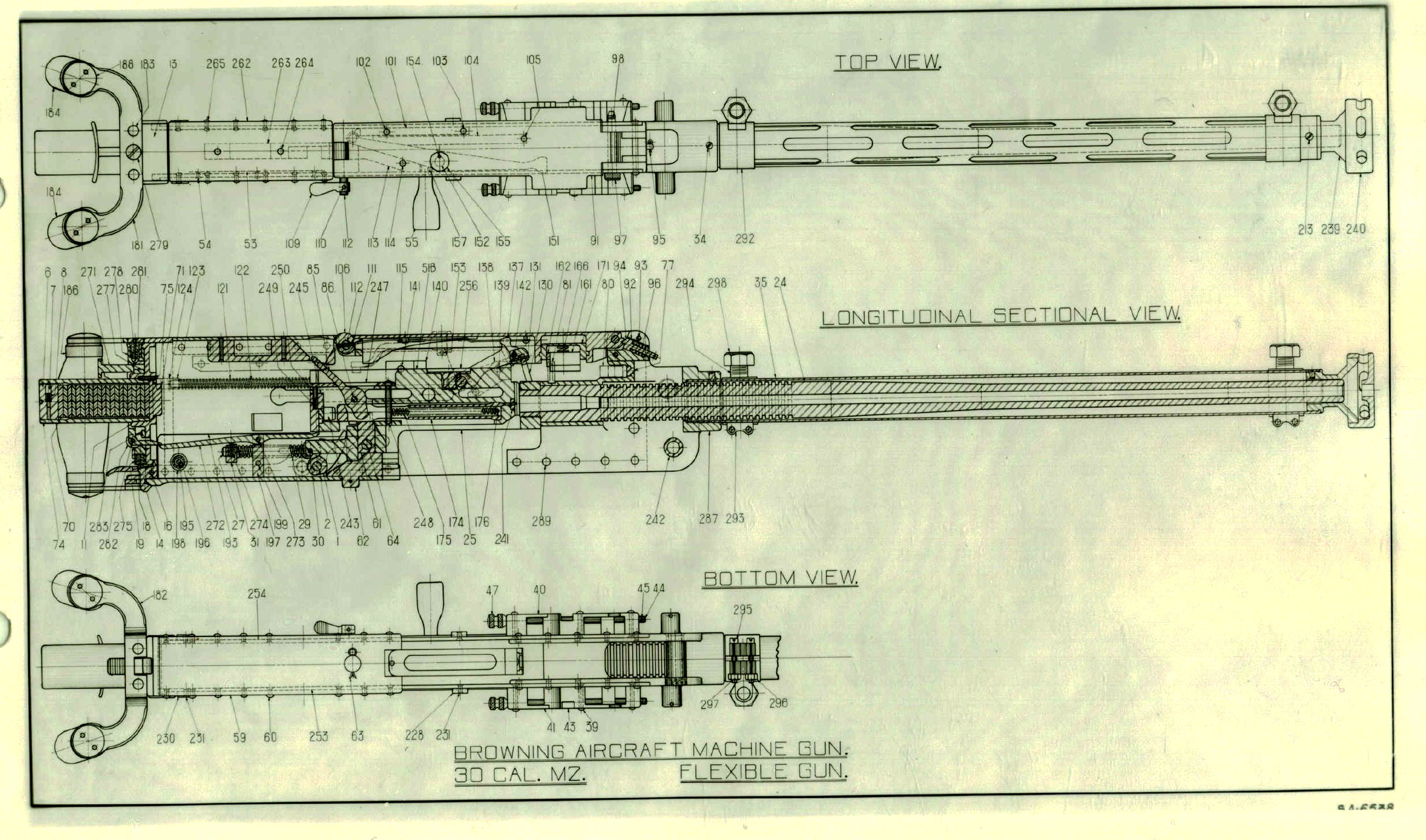 M2 Machine Gun Schematic Trusted Wiring Diagrams Freightliner Amu Diagram Springfield Armory Museum Archival Item Record M16 Rifle