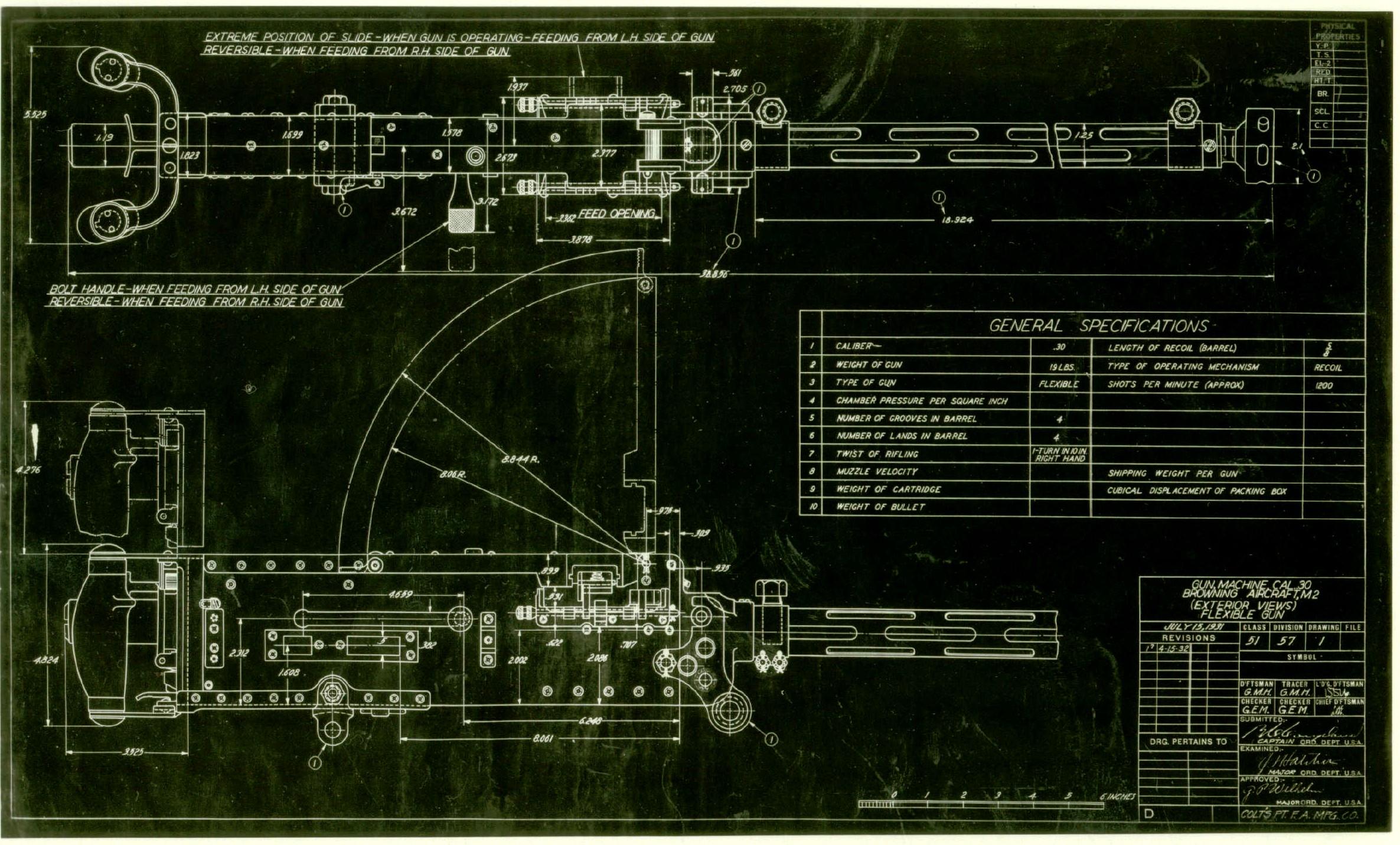 Gun Engineering Drawings And Engineering Division